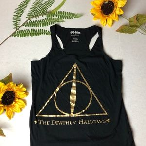 Deathly Hallows Harry Potter Tank Top, Small